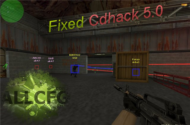 Fixed Cdhack 5.0